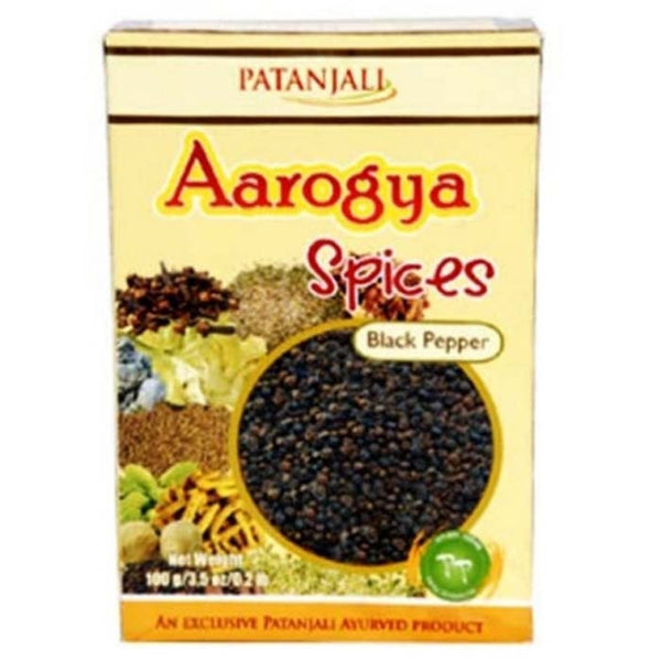 Ramdev Patanjali Black Pepper / Kali Mirch Whole