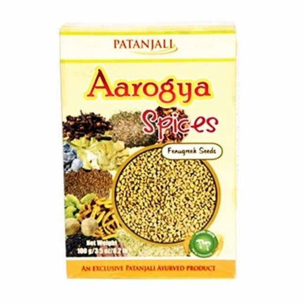 Ramdev Patanjali Fenugreek / Menthee Whole 100 Gm