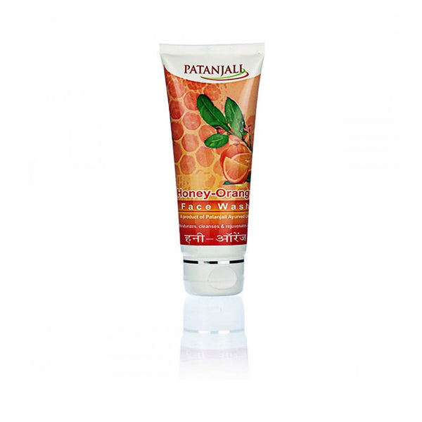 Ramdev Patanjali Honey Orange Face Wash 60 Gm