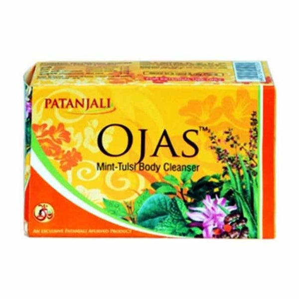 Ramdev Patanjali Ojas Mint Tulsi Body Cleanser Soap