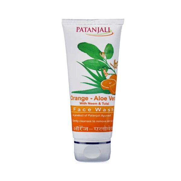 Ramdev Patanjali Orange Aloe Vera Face Wash
