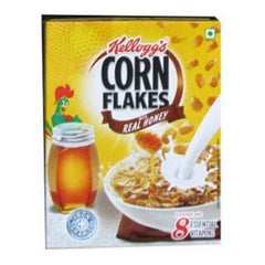 Kelloggs Almond & Real Honey Corn Flakes
