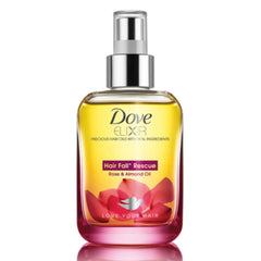 Dove Elixir Hairfall Rescue Oil Hibiscus & Orgon Oil 90 Ml