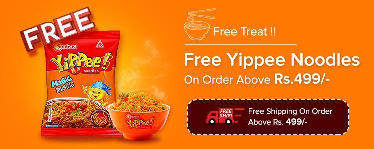 Get Free Yippee Noodle