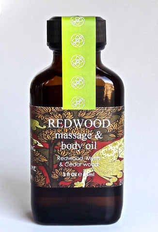 Redwood Face & Body Oil 3 oz