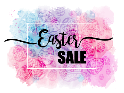 Easter sale on all vinyl, printed heat transfer vinyl, printed outdoor adhesive vinyl