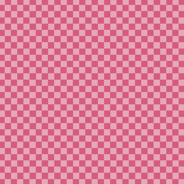 Designer Inspired Pink Checkered Printed Vinyl