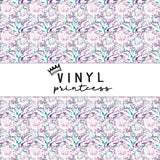 Abstract Floral Patterned Vinyl - Craft Vinyl
