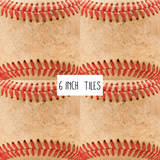 Baseball Leather Patterned Vinyl - Craft Vinyl
