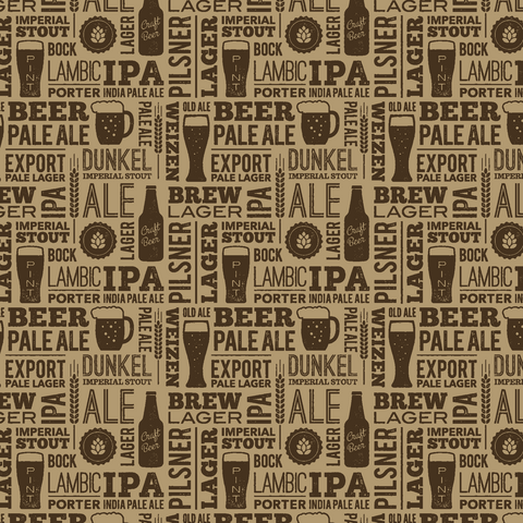 Craft Beer Printed Vinyl - Craft Vinyl