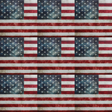 Distressed & Faded American Flag Patterned Vinyl - Craft Vinyl