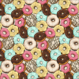 Donuts Patterned Vinyl - Craft Vinyl - Printed 651 Adhesive or Heat Transfer HTV