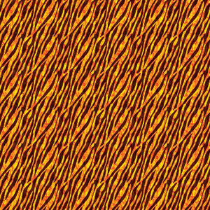 Tiger Stripes & Flames Printed Vinyl - Craft Vinyl
