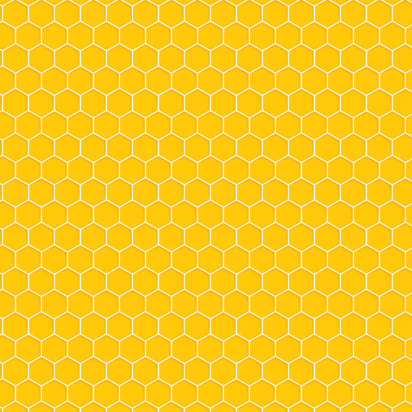Honeycomb Printed Craft Vinyl
