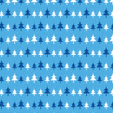 Ice Blue Christmas Trees Patterned Vinyl - Craft Vinyl