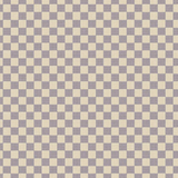 Designer Inspired Cream Checkered Fabric Textured Printed Vinyl
