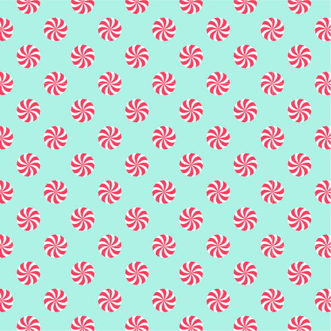 Peppermint Patterned Vinyl - Craft Vinyl