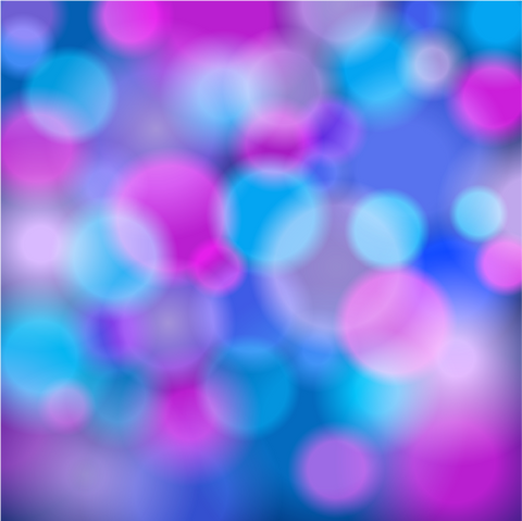 Pink & Blue Bokeh Patterned Vinyl - Craft Vinyl