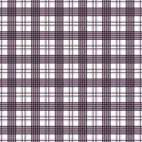 Purple Tartan Plaid Printed Vinyl
