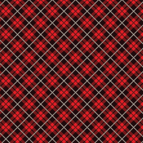 Red Tartan Plaid #8 Printed Vinyl