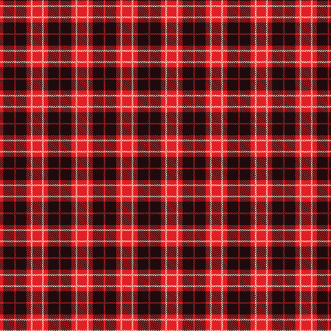 Red Tartan Plaid #9 Printed Vinyl