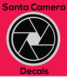 Santa Camera - Sheet of 49 Decals
