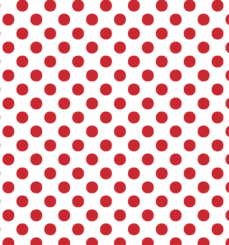 Large Polka Dots Printed Craft Vinyl - Choose From 8 Colors