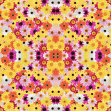 Pink & Yellow Daisy Patterned Vinyl - Craft Vinyl