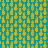 Teal & Gold Pineapple Patterned Vinyl - Craft Vinyl - Printed Adhesive 651 and Heat Transfer HTV