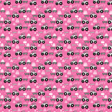Pink Tractors Patterned Vinyl - Craft Vinyl
