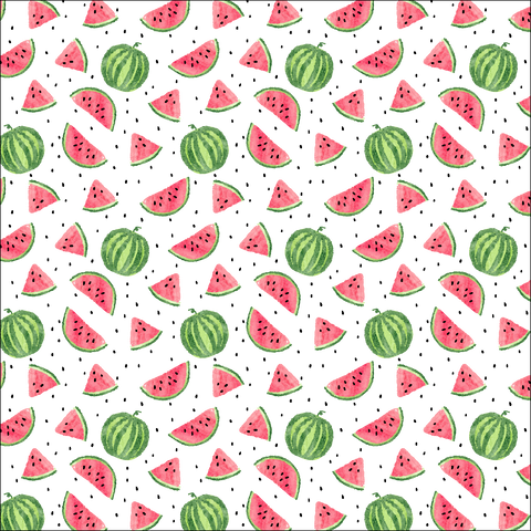 Watermelon Patterned Vinyl - Craft Vinyl - Printed Adhesive 651 and Heat Transfer HTV