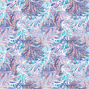 Abstract Pastel Pattern Printed Vinyl