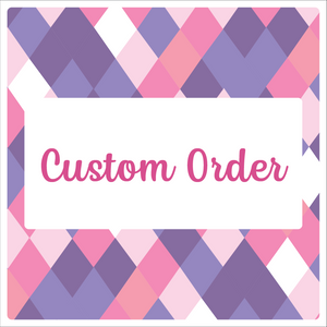 Custom Order for S.B. - Custom Print & Cut, HTV 2-5-20