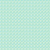 Turquoise Daisy Patterned Vinyl