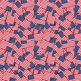 Mini American Flags Printed Vinyl