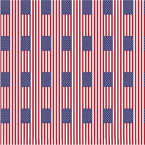 American Flag Patterned Vinyl - Craft Vinyl - 651, Heat Transfer HTV