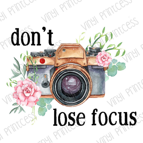 Camera and Flowers Boho PNG Digital Download - Sublimation File Download - Floral Motivational, Inspiring Design Printable Digital Download