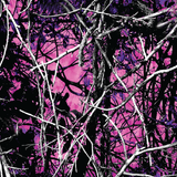 Pink Muddy Realistic Camo Printed Craft Vinyl - Printed Adhesive Outdoor or Heat Transfer Vinyl