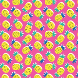 Pineapple Love Patterned Vinyl - Craft Vinyl