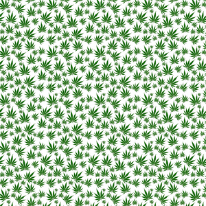 Cannabis Leaves Printed Vinyl - Craft Vinyl