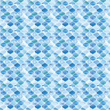 Watercolor Quatrefoil Printed Vinyl - Seamless