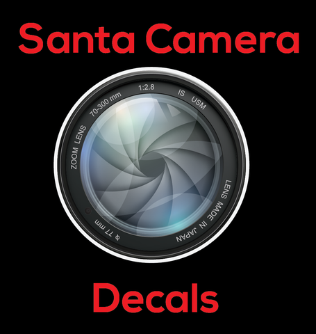 Santa Camera HD - Sheet of 49 Decals