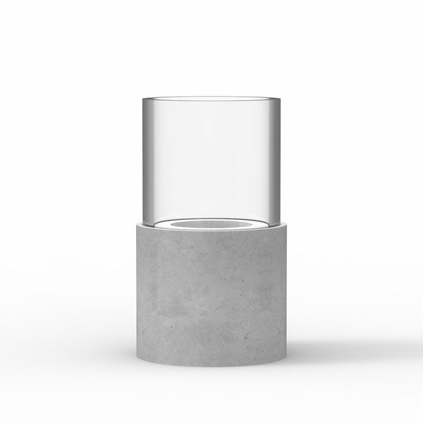 BELA Candle and Tea Light Grey Short