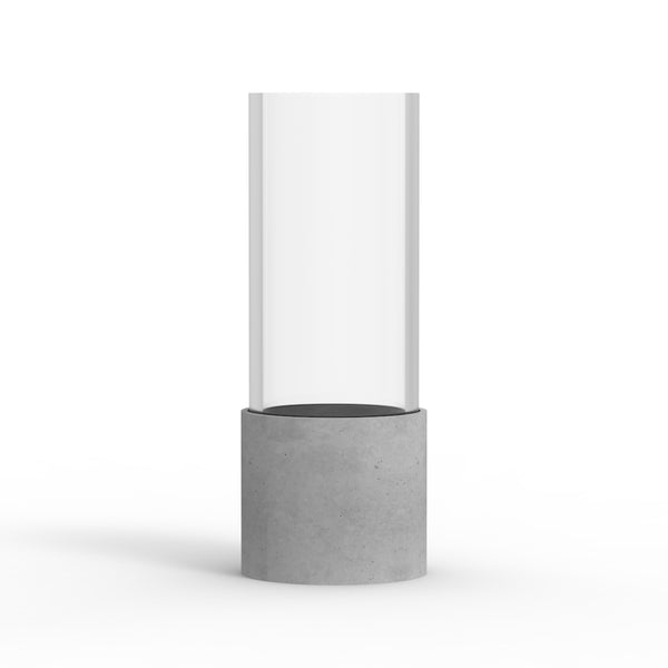 BELA Candle and Tea Light Grey Tall