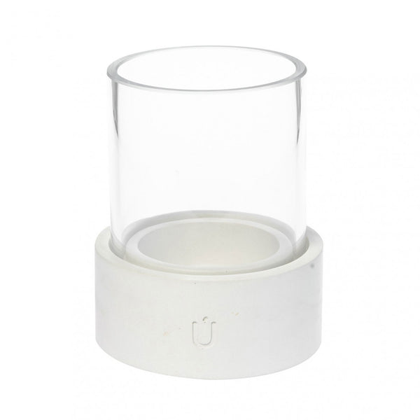 BELA MINI Candle and Tea Light White Short