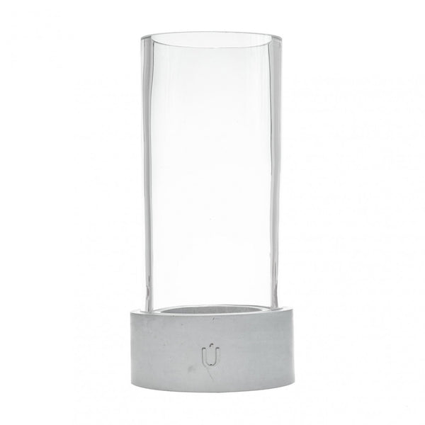 BELA MINI Candle and Tea Light Grey Tall