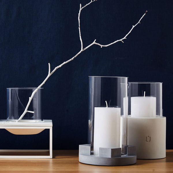 BELA Candle and Tea Light White Short
