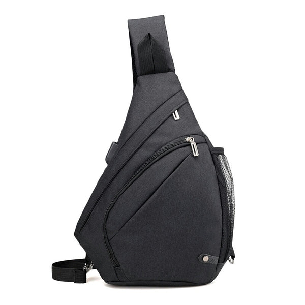 Fashion Functional Backpack USB Charge