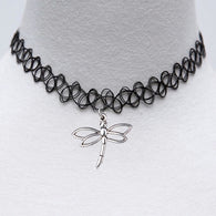 Hot Fashion DIY Jewelry Sliver Hollow Out Dragonfly