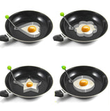 funny stainless steel Heart Round fried egg, Pancake - AmazingSolution